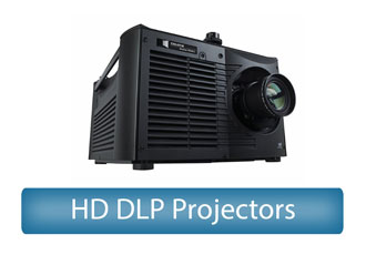 HD DLP Projectors Rental