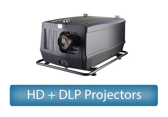 HD + DLP Projectors Rental
