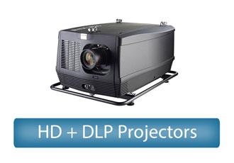 HD + DLP Projectors Rental