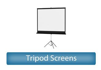 Tripod Screens Rental