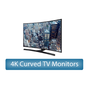 4K Curved UHD TV Monitors Rental