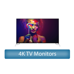 4K UHD TV Monitor Rental