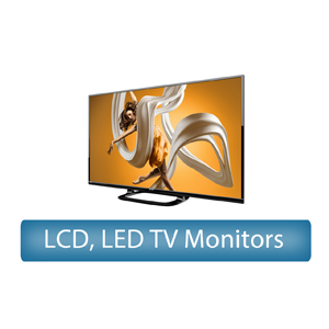 LCD, LED TV Monitors rental